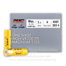 "20 ga - 3"" - 1 oz. - Steel #4 Shot - PMC High Velocity Steel Shot - 250 Rounds"