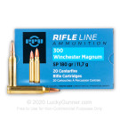 300 Winchester Magnum - 180 Grain SP - Prvi Partizan - 20 Rounds