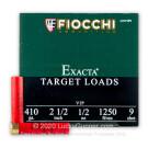 "410 Bore - 2-1/2"" 1/2oz. #9 Shot - Fiocchi - 25 Rounds"