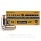 40 S&W - 165 gr HST JHP - Federal Premium Law Enforcement - 50 Rounds