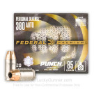 380 Auto - 85 Grain JHP - Federal Punch - 20 Rounds