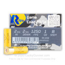 "20 Gauge - 2-3/4"" 1oz. #8 Shot - Rio Game Load - 250 Rounds"