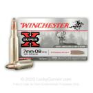 7mm-08 Rem - 140 Grain Power Point - Winchester Super-X - 20 Rounds