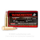 17 Hornady Magnum Rimfire (HMR) - 15.5 gr Polymer Tipped NTX Lead Free - Winchester - 50 Rounds
