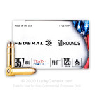 357 Magnum - 125 Grain JHP - Federal Train + Protect - 50 Rounds
