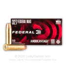 327 Federal Magnum - 100 gr JSP - Federal - 50 Rounds
