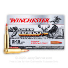 243 - 85 Grain Copper Extreme Point - Winchester Deer Season XP Copper Impact - 20 Rounds