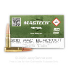300 AAC Blackout - 115 Grain OTM - Magtech First Defense - 500 Rounds