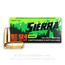 9mm - 124 Grain JHP - Sierra Outdoor Master - 20 Rounds