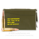 7.62x51 - 147 Grain FMJ M80 - Igman - 560 Rounds in Ammo Can