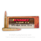 375 H&H Magnum - 300 gr Triple-Shock X Hollow Point - Barnes VOR-TX - 20 Rounds