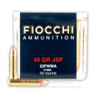 22 WMR - 40 gr JSP - Fiocchi - 50 Rounds