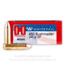 450 Bushmaster - 245 Grain InterLock - Hornady American Whitetail - 20 Rounds