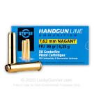 7.62mm Nagant - 98 gr FPJ - Prvi Partizan - 50 Rounds