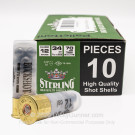 "12 Gauge - 2-3/4"" 9 Pellets 00 Buckshot - Sterling - 200 Rounds"