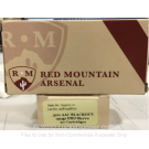 300 AAC Blackout - 150 Grain FMJ - Red Mountain Arsenal - 20 Rounds