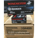 40 S&W - 180 Grain Bonded JHP - Winchester Ranger - 500 Rounds