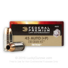 45 ACP +P - 230 Grain HST JHP - Federal Premium Law Enforcement - 1000 Rounds