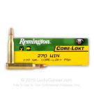 270 Win - 100 gr - PSP - Remington - 20 Rounds
