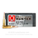 6.5 PRC - 143 Grain ELD-X - Hornady Precision Hunter - 20 Rounds