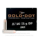 357 Mag - 125 gr JHP - Speer Gold Dot - 20 Rounds