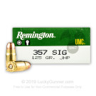 357 Sig - 125 gr JHP - Remington UMC - 50 Rounds