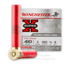 "410 Gauge - 3"" 3/4 oz. #6 Shot - Winchester Super-X - 25 Rounds"
