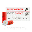 "12 Gauge - 2-3/4"" 1 oz. #8 Lead Shot - Winchester Target - 250 Rounds"
