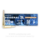 270 - 150 gr SP - Federal Power-Shok - 20 Rounds