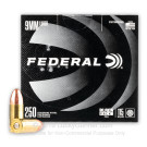 9mm - 115 Grain FMJ - Federal Black Pack - 1000 Rounds