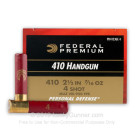 "410 Bore - 2-1/2"" #4 - Federal - 200 Rounds"