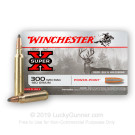300 Winchester Magnum - 180 Grain Super-X Power Point - Winchester - 20 Rounds