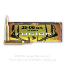 25-06 - 120 gr Fusion - Federal Fusion - 20 Rounds