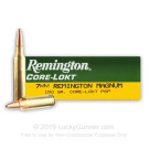 7mm Remington Magnum - 150 gr PSP - Remington Core-Lokt - 20 Rounds