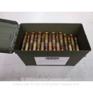 50 BMG - 660 Grain FMJ M33 - Lake City - 100 Rounds in Ammo Can