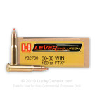 30-30 - 160 Grain FTX - Hornady LEVERevolution - 200 Rounds