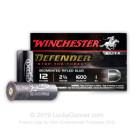 "12 Gauge - 2-3/4"" 1 oz. Rifled Slug - Winchester Supreme Elite - 10 Rounds"