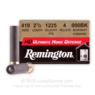 ".410 Bore - 2-1/2"" 000 Buckshot – Remington Ultimate Home Defense - 15 Rounds"