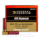 "410 Bore - 2-1/2"" 000 Buckshot - Federal Premium- 200 Rounds"