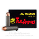 357 Mag - 158 Grain FMJ - Tula - 1000 Rounds