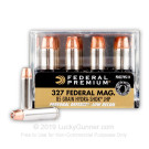 327 Federal Magnum - Low Recoil - 85 gr Hydra-Shok JHP - Federal - 20 Rounds