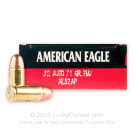 32 ACP - 71 Grain FMJ - Federal American Eagle - 1000 Rounds