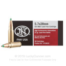 5.7x28mm - 27 Grain Lead Free JHP - FN Herstal - 500 Rounds