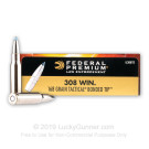 308 - 168 Grain Tactical Bonded Tip - Federal LE - 20 Rounds