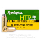 44 Mag - 240 gr SP - Remington HTP - 50 Rounds