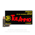 38 Special - 130 Grain FMJ - Tula - 1000 Rounds