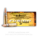 6.8 Remington SPC - 115 gr Fusion - Federal - 20 Rounds