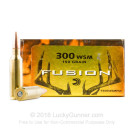 300 WSM - 150 Grain Fusion SP - Federal Fusion - 20 Rounds