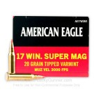 17 Win Super Mag - 20 gr - Polymer Tip - Federal American Eagle - 50 Rounds