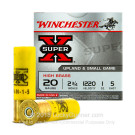 "20 Ga - 2-3/4"" High Brass Game Load - 1 oz #5 - Winchester - 25"
